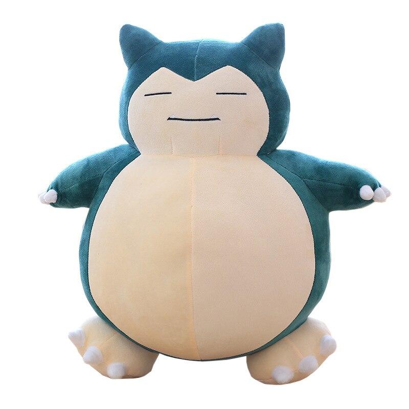 Snorlax muñeco de peluche bonito Oso de gran tamaño juguetes de peluche suave almohada regalos para niños regalo de cumpleaños