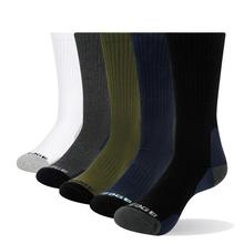 YUEDGE Brand 5 Pairs Mens Breathable Cotton Colorful fashion Cushion Casual Business Sport Runing Crew Dress Socks