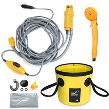 Car Washer Car-Shower Electric-Water-Pump High-Pressure Camping 12V for Home Outdoor