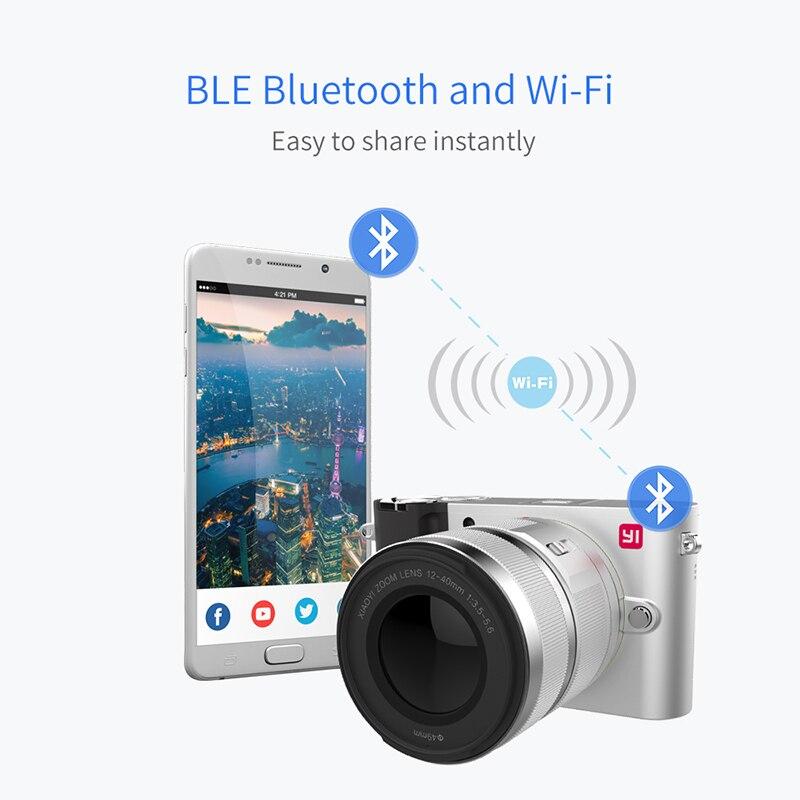 YI M1 appareil photo numérique sans miroir objectif Zoom principal LCD Version internationale minimaliste 20MP enregistreur vidéo 720RGB caméra numérique - 4