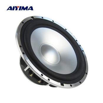 AIYIMA 1Pcs 6.5 Inch Audio Midrange Bass Speaker 4 Ohm 100W Loudspeaker Home Theater Auto HIFI Audio Music Speaker