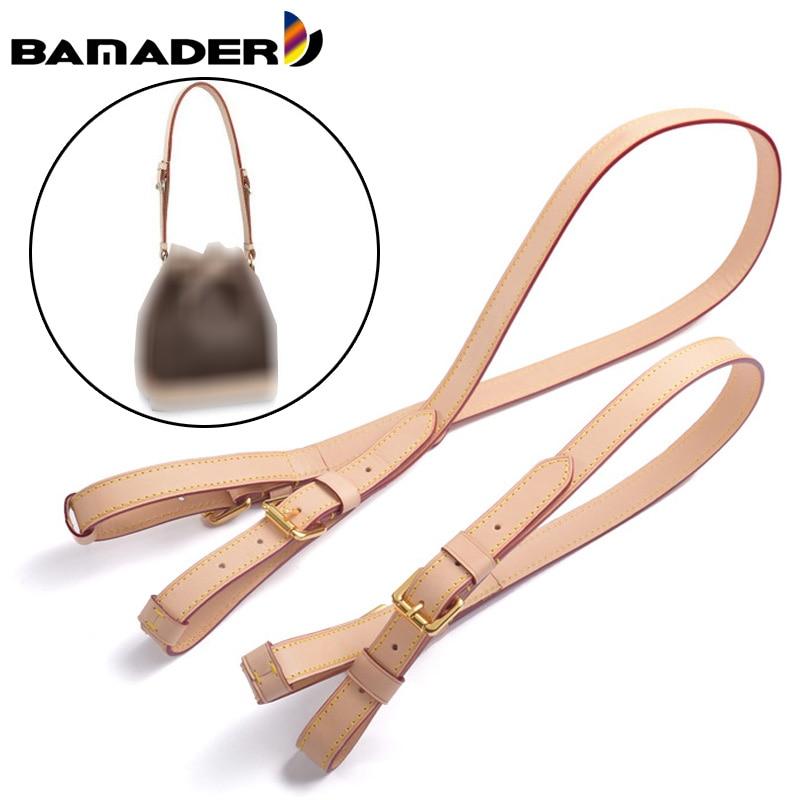 Color Changing Bag Strap Genuine Leather Primary Color Bag Strap Quality Vegetable Tanned Leather Shoulder Strap Bag Accessories