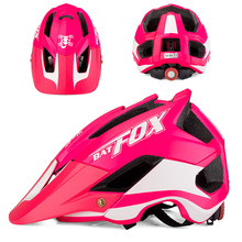 2019 Men Women MTB Cycling Helmet Pink Matte Bicycle Helmet