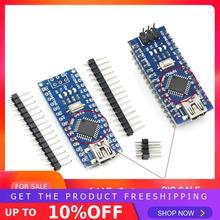 Мини-usb с контроллером загрузчика Nano 3,0 совместимый для arduino CH340 USB драйвер 16 МГц NANO V3.0 Atmega328