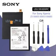 SONY Original LIS1593ERPC Phone Battery 2900mAh For Sony Xperia Z5 E6633 E6683 E6603 E6653 Replacement Batteria + Free Tools