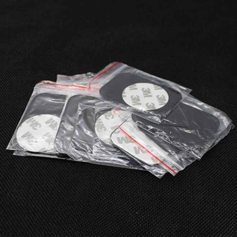 Metal plaka Disk mıknatıslı araba telefon tutucu sac demir Sticker manyetik cep telefon tutucu araç montaj standı