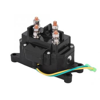 цена на Universal 12V ATV UTV Winch Solenoid Relay Contactor Switch 63070 for Marine car switch relay switch button car accessories