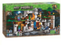 Kids Game My World The Bedrock Adventures Building Block Bricks Compatible Legoingly Minecraftlys Model Toys for Child Christmas