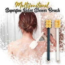 Ванна щетка длинная ручка дизайн универсальный ванна щетка грязь съемный удалить для душа чистка щетка H6X4