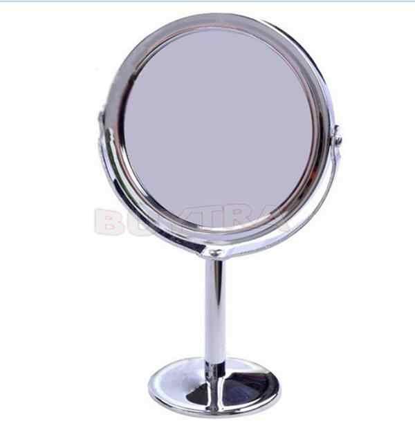 Trang Điểm Gương Bình Giữ Nhiệt Đựng Mỹ Phẩm Nhà Tắm 2 Mặt Gương Trang Điểm Để Bàn Đường Kính 8 Cm Nữ Nhà Nữ văn Phòng