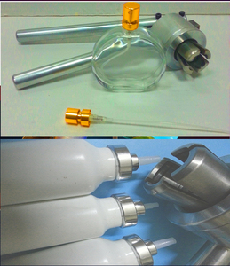 Image 5 - JIQI נירוסטה יד כף מלחץ בקבוקון אוטם 13mm 15mm 20mm בושם בקבוק איטום מכונה ידנית Capper להעיף את מכסת