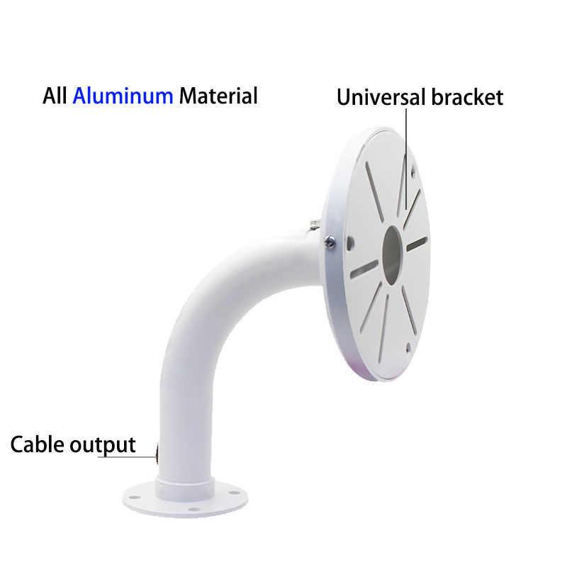 Aluminium Outdoor Regendicht Surveillance Camera Muurbeugel Compatibel Met Hikvision Dahua Samsung Dome Ip Camera