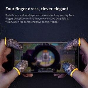 Image 4 - Guantes profesionales para jugar a PUBG con el teléfono, a prueba de sudor, mangas para dedos, pantalla táctil, mangas para dedos