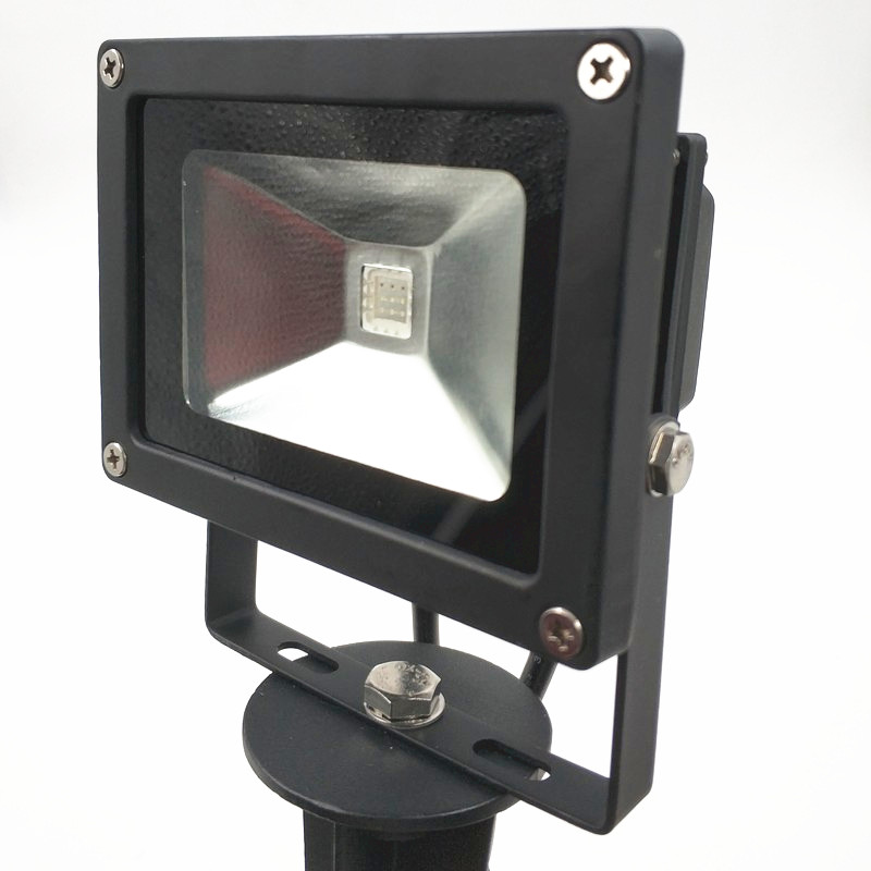 2019 NEW Style Smart 9W LED Flood Light WS2811 IP66 Waterproof With Accessories And 13.5mm/18.5mm/xconnect Connector