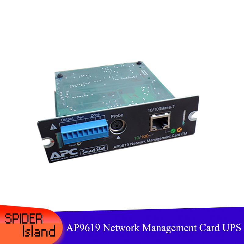 For AP9619 Network Management Intelligent Card UPS Monitoring Card, APC UPS Remote Card