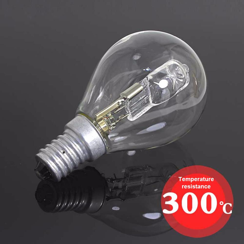P45 Halogen Bulb 42W E14 220V High Temperature Resistant 300 Degree Oven Light Oven Light Indoor Lighting E14 Screw Light