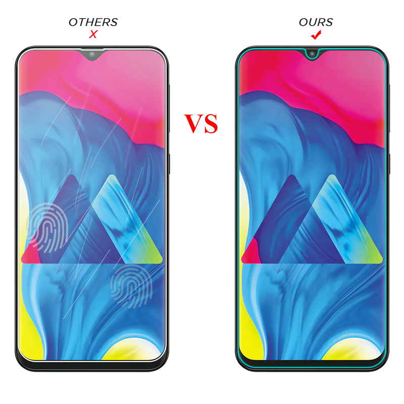 Image 4 - Tempered Glass For Samsung Galaxy A50 A30 A20E A40S M30 M20 M10 Screen Protector Glass On A 10 20 40 60 70 80 90 Protective Film-in Phone Screen Protectors from Cellphones & Telecommunications
