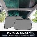 Солнцезащитный козырек Model3 UVB для Tesla Model 3 2021, аксессуары для крыши Skylight, защитный козырек, модель три модели