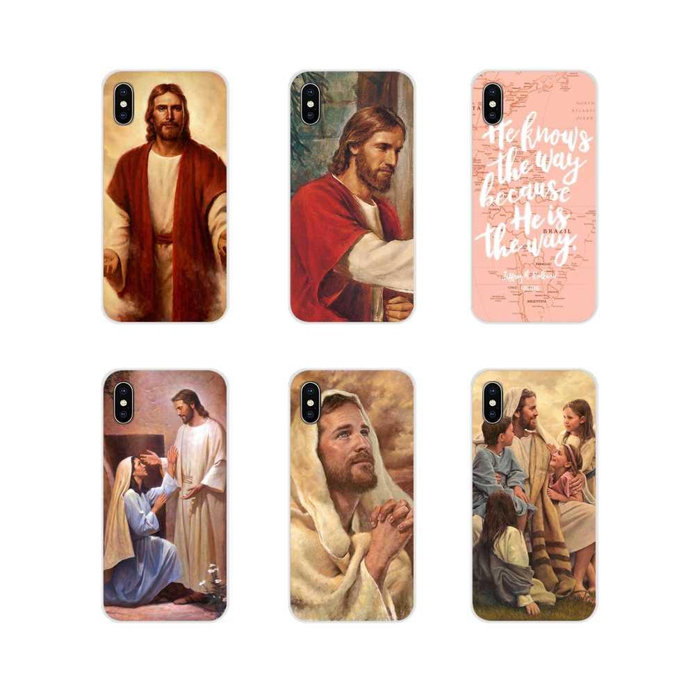 สำหรับ Samsung A10 A30 A40 A50 A60 A70 Galaxy S2 หมายเหตุ 2 3 Grand Core Prime โทรศัพท์มือถือกรณี book of Mormon Jesus Christ Bible