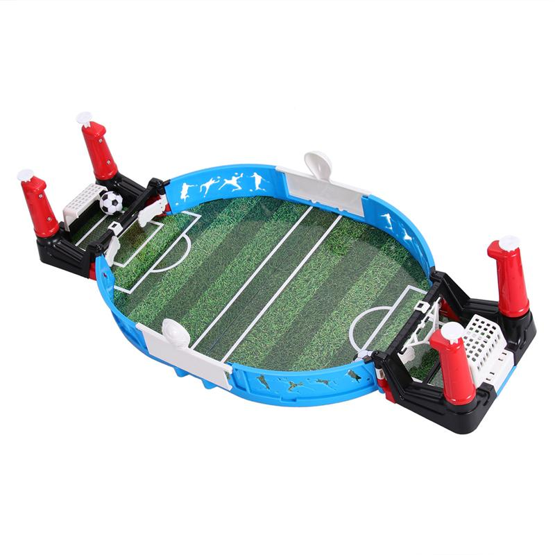 Creative Mini Table Top Double Players Footbal Soccer Game Football Machine Creative Gift Toy for Kids Children image