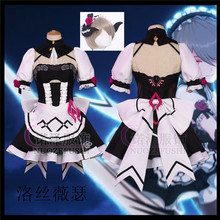 2020 Honkai Impact 3rd Rita Rossweisse Sexy maid outfit Cute Cosplay costume lovely women Dress free shipping