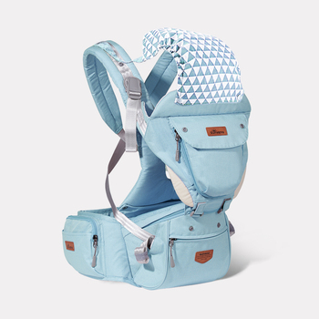 Sunveno Ergonomic Baby Carrier Infant Hip seat Carrier Kangaroo Sling  Front Facing Backpacks for Baby Travel Activity Gear 10