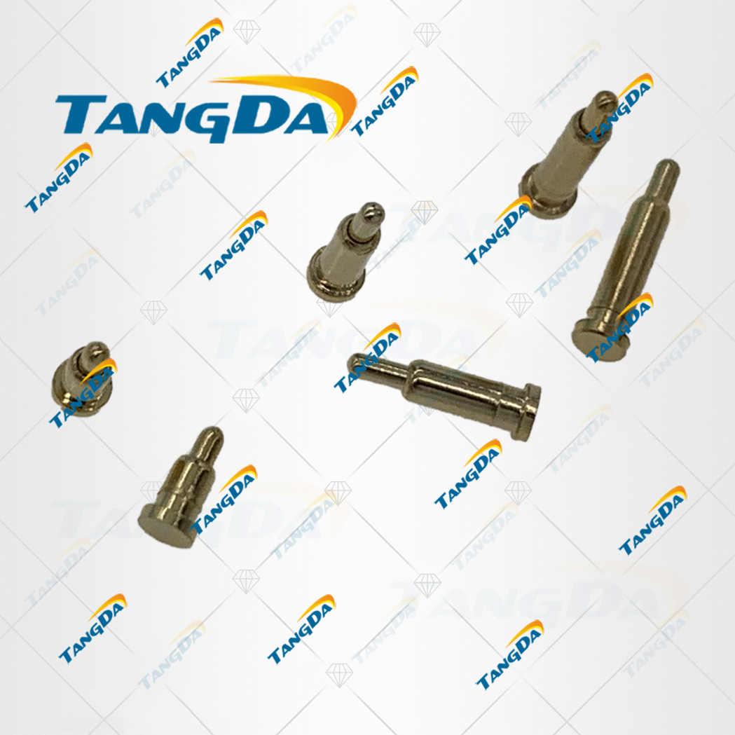 TANGDAฤดูใบไม้ผลิPogo Pinเส้นผ่าศูนย์กลาง: 2.0มม.X 2.5 3.0 3.5 4.0 5.0 6.0 7.0 8.0 9.0 10.0 12.0 14.0 16.0 18.0มม.3 4 5 6 7 8 T