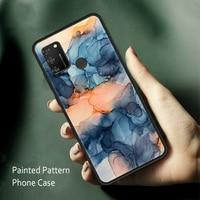 Funda de TPU para Huawei Honor 20, 30, 10, 9 Lite Pro, funda anti-caídas de acuarela para Honor 10i