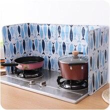 Мультфильм брызговик щит защита масла разделитель брызг перегородка инструмент кухня приготовление пищи сковорода масло брызговик экран крышка газовая плита