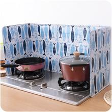 Мультяшный защитный экран от брызг, защита от брызг, заслонка для кухни, фотомагнитная оболочка, газовая плита