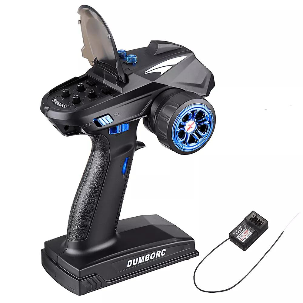 LeadingStar DumboRC X6 2.4G 6CH Transmitter with X6F/X6FG Receiver for <font><b>JJRC</b></font> <font><b>Q65</b></font> MN-90 Rc Car Boat Model <font><b>Parts</b></font> image