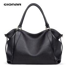 GIONAR sac en cuir véritable femmes célèbre marque de luxe sacs à main concepteur 2020 bandoulière sac de travail à bandoulière sur lépaule