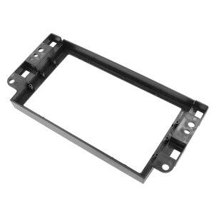 Image 4 - Двойная Рамка для автомобильного DVD плеера 2 Din, адаптер для аудио фитинга, комплекты для отделки приборной панели, Fascia Для Chevrolet Captiva/Lova/Gentra/AVEO