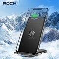 Беспроводное зарядное устройство ROCK  10 Вт  2 катушки  для iPhone XS  XR  Samsung S9  Note9  Xiaomi  быстрая зарядка  держатель для телефона  подставка