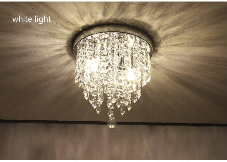 criativa de cristal para quarto, decoração para interiores