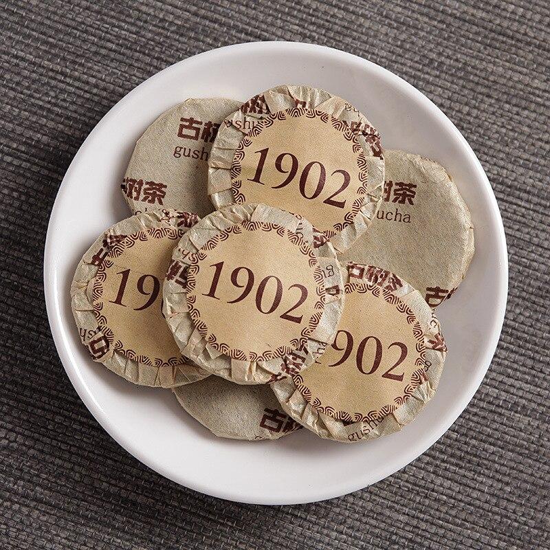 Yunnan Pu'er Tè Squisito Sottile Compressa Mini Tè Del Puer Piccolo Volante Torta Puerh Tè Grezzo 500G