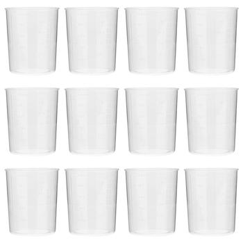 40Pcs 100ml Plastic Graduated Measuring Cup For Baking Beaker Laboratory Supplies 1pc 100ml laboratory bottle lab kitchen plastic measuring cup measuring cup