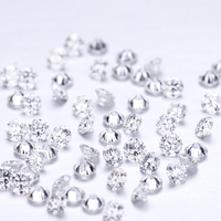 1ct/pack 3mm DEF Color VS Clarity Loose Lab Grown HPHT Diamond for Jewelry Making