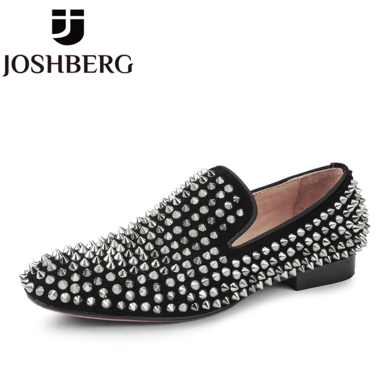 JOSHBERG New Designers Men'S Shoess Comfort Gentleman  Fashion Shoes Leisure Style Man Shoes Sapato Social Masculino Verniz