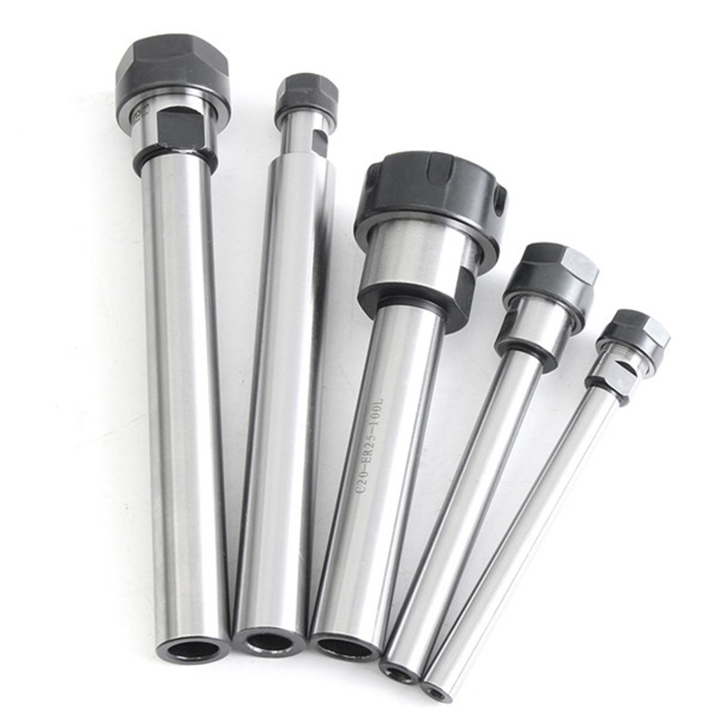 C10 ER11A 100L Collet Chuck Holder CNC Milling Extension Rod Straight Shank