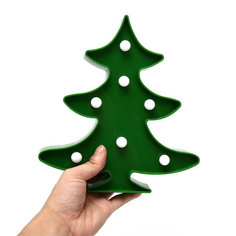 Рождественская елка ночник 3D иллюзия Светодиодная лампа туннельный свет ночник настольная лампа домашний декор детский подарок игрушка