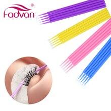 Makeup-Brush Eyelash-Swab Individual-Lash Micro Disposable Fadvan Removing-Tools 100/Bag