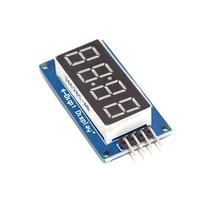 Led-Display-Module Board-Pack Driver Clock TM1637 Digital-Tube Arduino 7-Segment RED