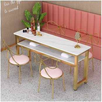 Manicure table simple modern single double triple nail table and chair set simple table double-layer economy - DISCOUNT ITEM  27 OFF All Category
