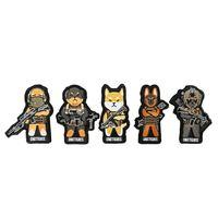 OneTigris 1TG K9 armii łatki oryginalne fajne śmieszne łaty towar haftowane pies Morale w Zewnętrzne narzędzia od Sport i rozrywka na