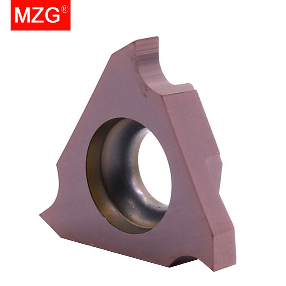 MZG 10 шт. TGF32R 0,5 1,0 1,5 2,0 Groove ZP15 обработка нержавеющей стали обработка обработки ЧПУ карбидные вставки