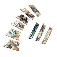 Гитарный инкрустационный материал 9 шт abalone металлический
