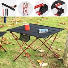 Ultralight Folding Desk Outdoor Portable Folding Table Aluminum Alloy Table For Fishing Picnic Desk Breathable Wear-resistant