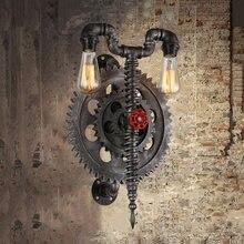 Винтажный настенный светильник чердак в стиле ретро труба для