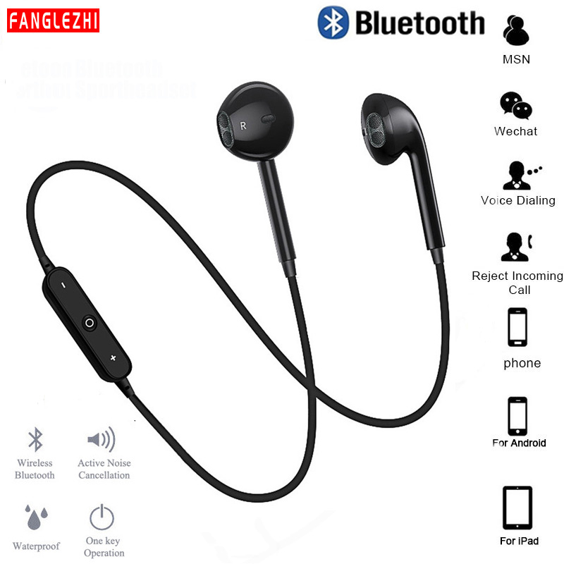 Wireless Earphones Sport Bluetooth Earphone With Mic Music Earbuds Headset Handsfree For IPhone Samsung For Huawei For Xiaomi